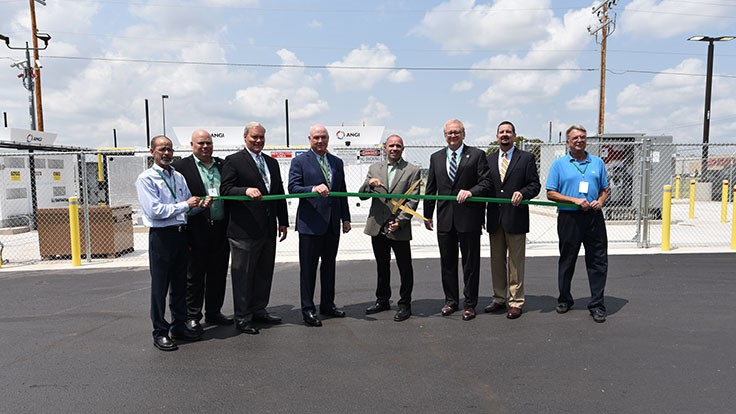 Waste Management opens its 100th natural gas fueling station