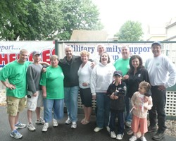 NEPMA Holds BBQ and Care Package Drive for Our Troops