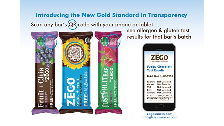 ZEGO Snacks Expands Batch-Level Food Safety and Smart Packaging System