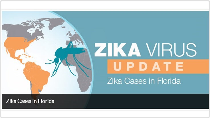 Five More Local Zika Cases in Florida; CDC Issues Travel Advisory