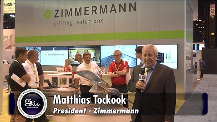 IMTS 2016 Booth Tour: Zimmerman Inc. [VIDEO]