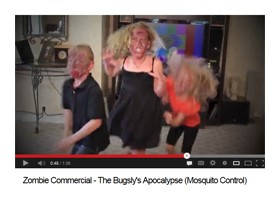 Video: Zombie-Themed TV Ad from Advanced Services