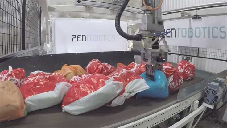 ZenRobotics now sorts bags