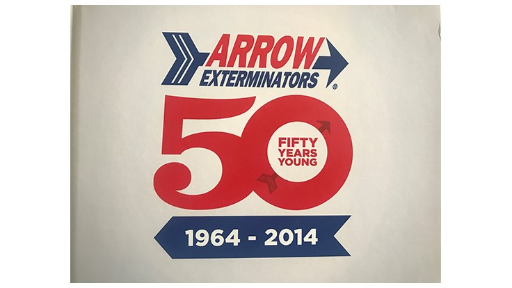 Arrow Exterminators 50th Anniversary