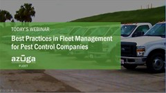 Best Practices in Fleet Management for Pest Control Companies