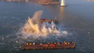 Bay Bridge Pier E3 Implosion Live Video