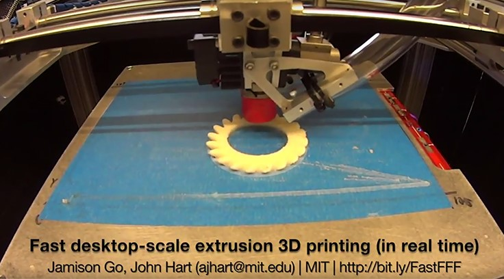 3D printer's 10x faster than commercial counterparts [VIDEO]