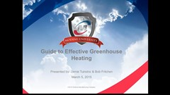 Modine's guide to effective greenhouse heating
