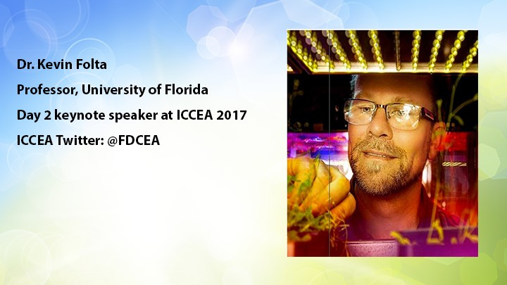 ICCEA 2017: LED lighting research and technology