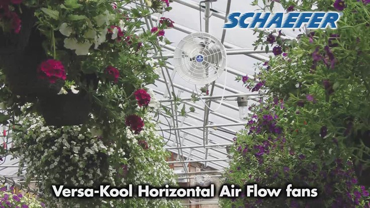High-quality cooling and air circulation [video] - Greenhouse Management