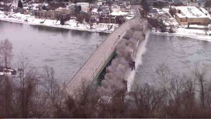 Hulton Bridge Implosion