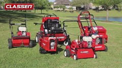 Classen Aerators, Overseeders, Sod Cutters and Turf Rakes