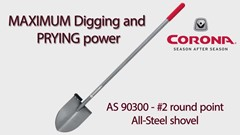 Corona MAX All-Steel Shovels