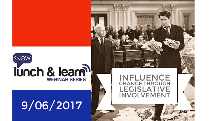 Webinar: Influence Change Through Legislative Involvement