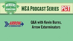 M&A Podcast Series: Kevin Burns, Arrow Exterminators