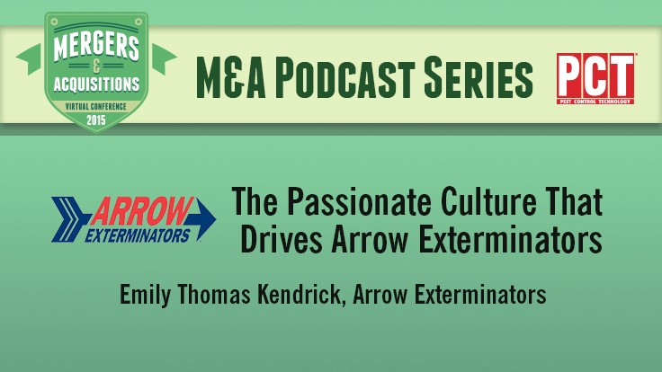 M&A Podcast Series: Arrow Exterminators