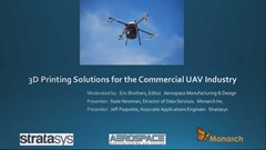 Archived Free Webinar: Drone Manufacturer Uses 3D Printing