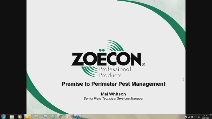 Webinar: Premise to Perimeter Pest Management