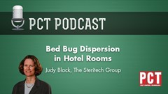 Bed Bug Dispersion in Hotel Rooms