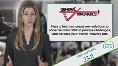 WasteExpo Video Product Preview: General Kinematics