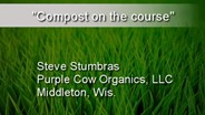 Compost on the course