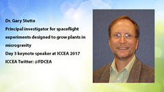 ICCEA 2017: Growing plants in space