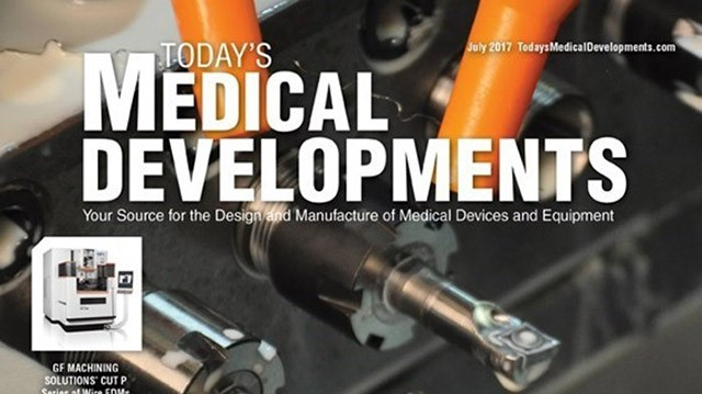 Medical design & manufacturing July 2017