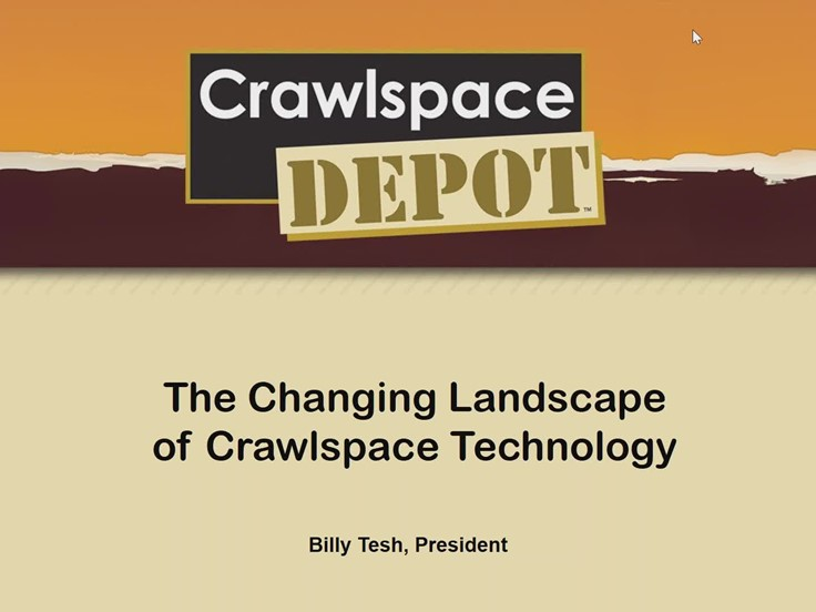 Webinar: The Changing Landscape of Crawlspace Technology