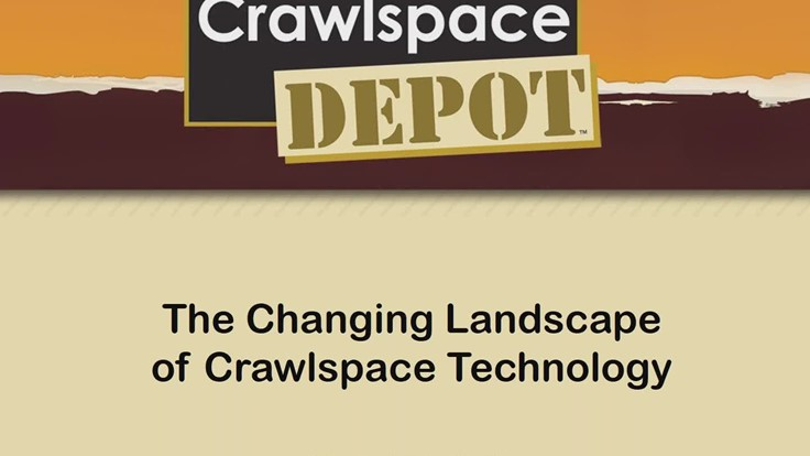 Webinar: The Changing Landscape of Crawlspace Technology - PCT - Pest Control Technology