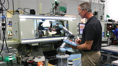 Universal Robots doubles production at Tegra Medical