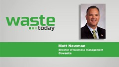 Podcast Interview: Matt Newman, Covanta