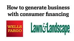 How to generate more business with consumer financing