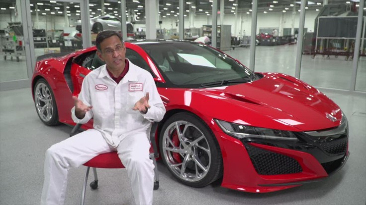 Acura NSX manufacturing team leader shares his story (Video)
