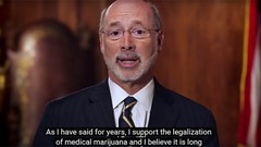 Penn. Gov. Wolf Urges Legislature To Legalize Medical Marijuana