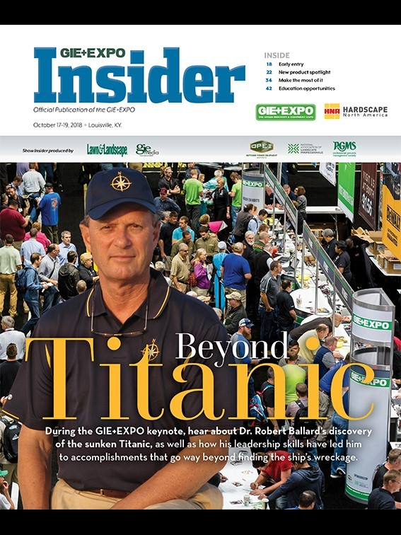 2018 EXPO Insider - Latest Magazine Issue For Lawn Care Contractors, Landscape