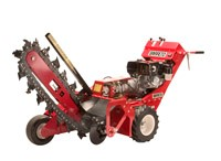 Barreto Steerable Walk-Behind Trencher