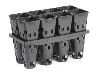 8 cell Pot-In-Frame Propagation Tray with Deep Air Pruning Pot
