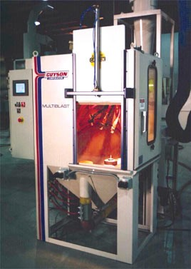 Work Cell Bead Blasting Machine