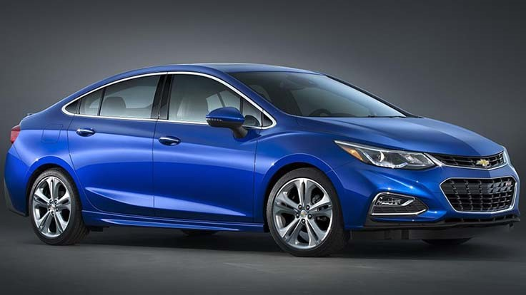 GM shows off 2016 Chevy Cruze