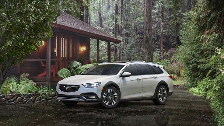 Buick calls the Regal TourX station wagon a bold new option?