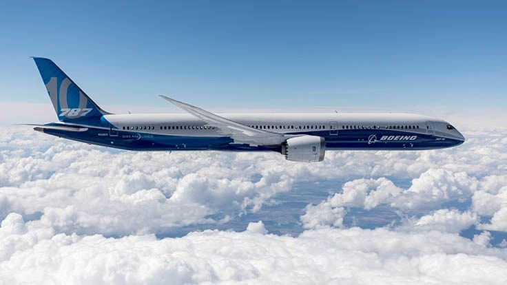 FAA approves Boeing 787-10 Dreamliner for commercial service