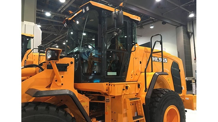 Hyundai touts wheel loader safety feature