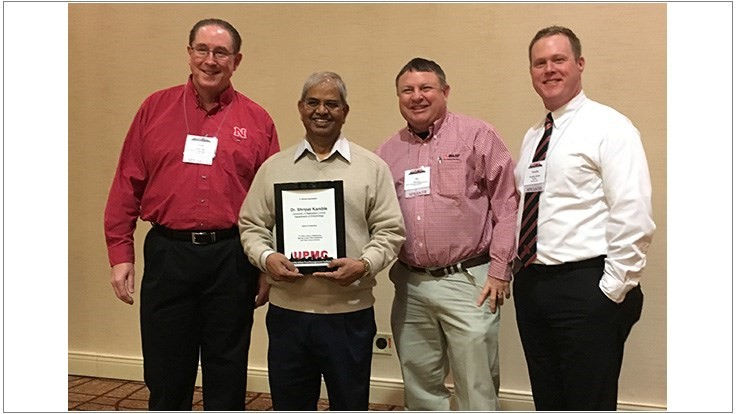 UNL Recognizes Dr. Shripat Kamble at Recent Conference