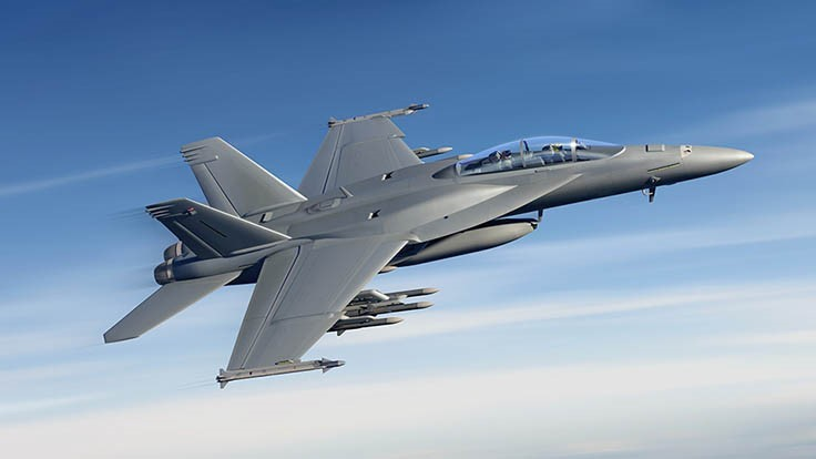 Boeing to modernize US Navy's F/A-18 Super Hornets