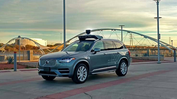 Self-driving Uber Volvo XC90 kills pedestrian in Arizona
