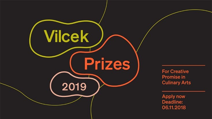 2019 Vilcek Creative Promise Prizes to Focus on Culinary Arts