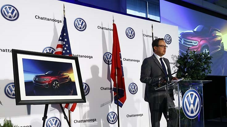 Nissan, Volkswagen investing in Deep South plants