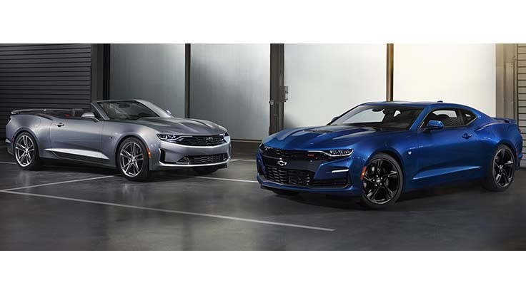 GM shows off 2019 Chevy Camaro