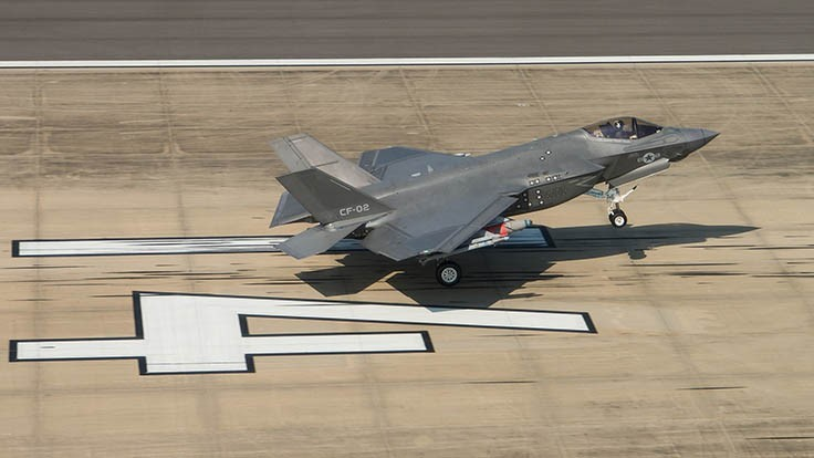 F-35 completes system development, demo flights