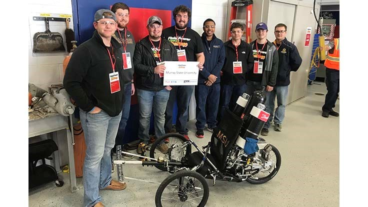 Kentucky's Murray State University wins NFPA Vehicle Challenge Competition
